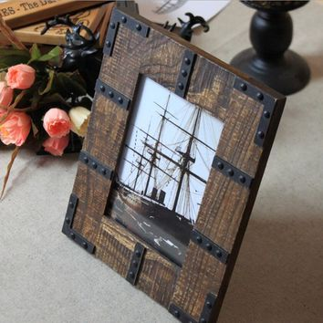 Modern Style Wood Photo Frame