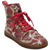Dr. Martens Hackney Red Multi Red Multi Ankle Boot
