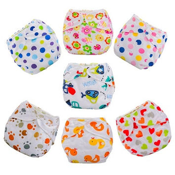2015 Newborn Baby Summer Cloth Diaper Cover Adjustable Reusable Washable Nappy