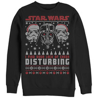 Star Wars Disturbing Sweater Black Sweatshirt