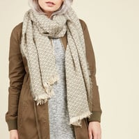 Destined Duet Scarf in Taupe | Mod Retro Vintage Scarves | ModCloth.com