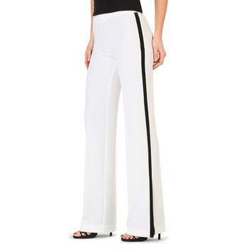 Annarita White Side Zip Pants