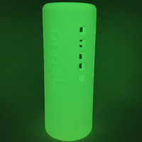 Onoola 32oz Glow In The Dark Protective Silicone Sleeve For Hydro Flask Type Bottles