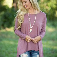 Create A New Beginning Blouse Mauve
