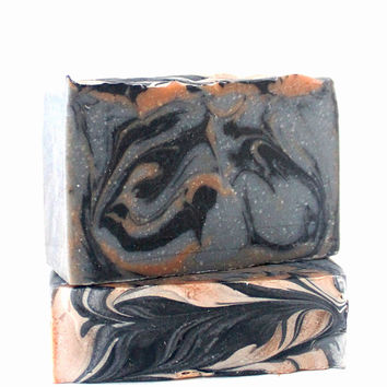 African Charcoal Shea Handcrafted Soap Bar
