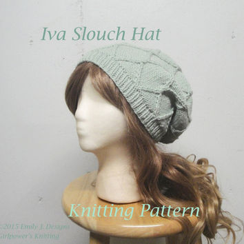 Best Knitted Cable Hat Pattern Products On Wanelo