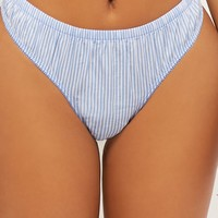 Striped Thong Panty