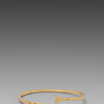Gorjana Arrow Cuff in Gold from REVOLVEclothing.com