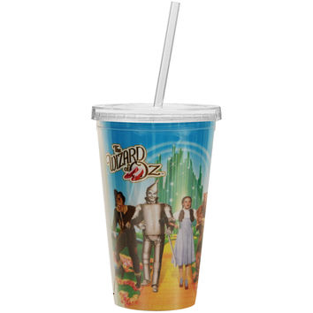 Wizard Of Oz Straw Tumbler