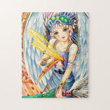 Girl Swordsman Jigsaw Puzzle