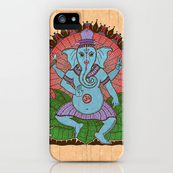 peace ganesh iPhone & iPod Case by Peter Patrick Barreda