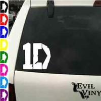 ONE DIRECTION Vinyl Car Decal Zayn Harry Niall Liam Louis UK 1D Sticker ANY SIZE