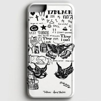 1D Harry Styles Tattoos iPhone 7 Case