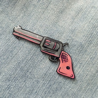 Punk Rock Feminist Pistol Pin