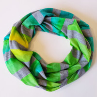 Seaside Ombre Toddler Scarf Childrens Fall Fashion Accessories Little Girls Scarves Baby Scarves Ombre Tube Scarf