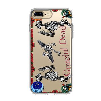 GRATEFUL DEAD 2 iPhone and Samsung Galaxy Clear Case