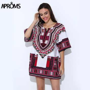 African Clothing for Womens Shirt  Mens Classic Bazin Riche Dashiki Tops  Big Size Autumn Print Blouses