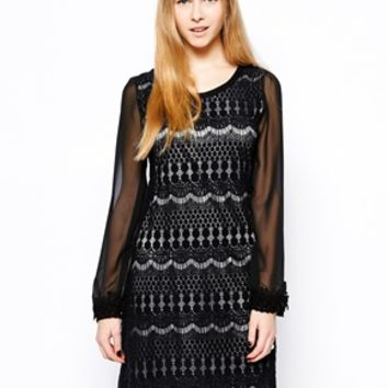 Yumi Lizzie Dress - Black