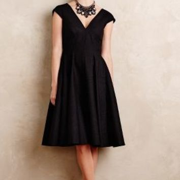 Peter Som Paimpont Silk Dress in Black Size: