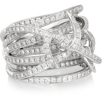 Stephen Webster - Forget Me Knot 18-karat white gold diamond ring