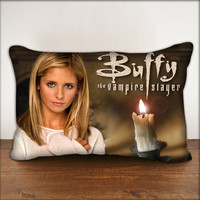"Buffy The Vampire Slayer - Pillow Cover in Size 18""x18"" and 30""x20"""