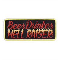 Beer Drinker, Hell Raiser Patch