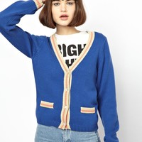 House Of Holland Varsity Cardigan