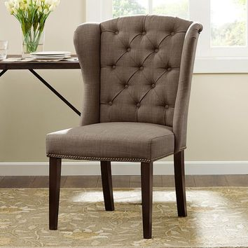Madison Park Lydia Dining Chair (Brown)