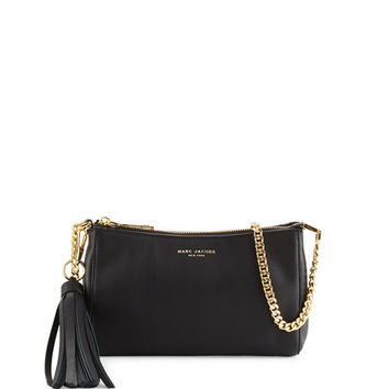 Marc Jacobs Rue Leather Crossbody Bag, Black