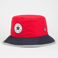 Converse Core Block Mens Bucket Hat Red/Blue