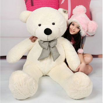 100CM Giant Teddy Bear Giant Plush Stuffed Toys Doll /Lovers/Valentines Gifts Birthday Gift 96339-96342
