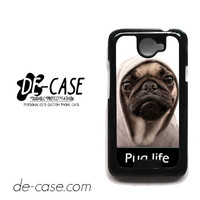 New Design Funny Hilarious Pug Life Parody Fans For HTC One X Case Phone Case Gift Present