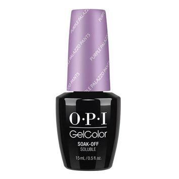 OPI Gel Color Purple Palazzo Pants V34