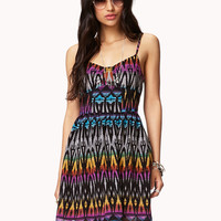 Ikat Chiffon Dress | FOREVER21 - 2036506176