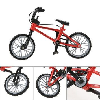 ICIK272 New Baby toys Kids Functional Finger Mountain Bike + Spare Tire + Tools Fixie Bicycle Model Kits Children gifts