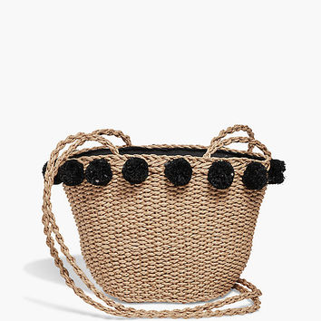Mini Straw Basket | Lucky Brand