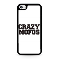 Crazy Mofos White iPhone 5C Case