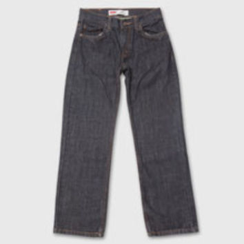 Boys' Levi's Toddler 505 Regular Fit Jeans - Black - Kids