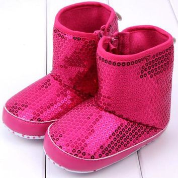 Girls' Winter Boots wint Shoes Soft Sole