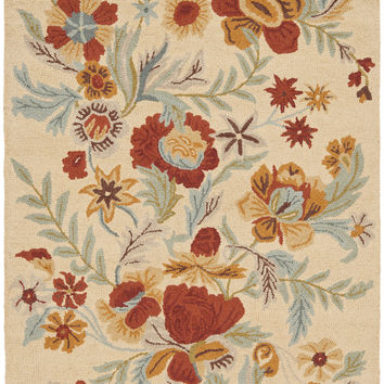 Safavieh Blossom Country & Floral Indoor Area Rug Beige / Multi