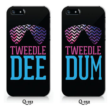 Q-151-Q-152 Tweedle Dee- Tweedle Dum Best Friend  phone case Ip6/6plus, Iphone4/4s, Iphone5/5s/5c, Samsung s3/s4/s5, Note3 case