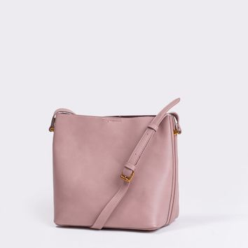 Trina Mauve Bucket Bag