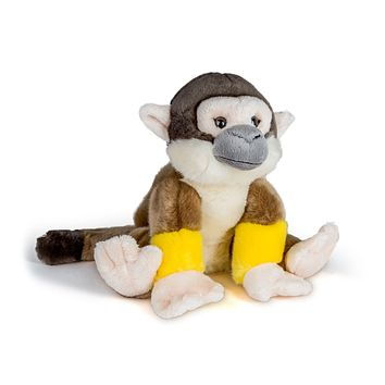 "12"" Stuffed Squirrel Monkey Plush Floppy Animal Kingdom Collection"