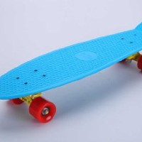 "Tiger Boards Complete 27"" Long Skateboard (27"" x 7.5"") (Blue)"