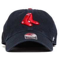Boston Red Sox Clean Up Unstructured Strapback Hat Navy