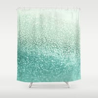 SEAFOAM Shower Curtain by Monika Strigel | Society6