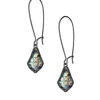 Lori Earrings in Iridescent Opalite - Kendra Scott Jewelry