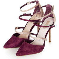 GISELLE Multi Buckle Courts - Heels - Shoes