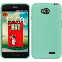 DW Premium TPU Skin Case for LG Optimus L70 (Exceed 2) - Teal