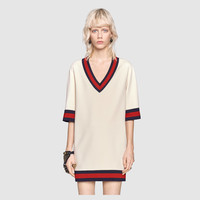 Gucci Stretch viscose dress with Web